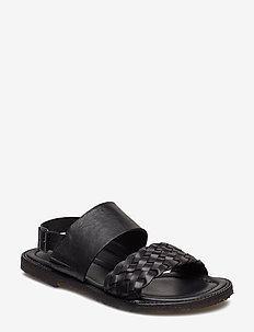 Sandals - flat - 2024/1604 BRAID/ BLACK