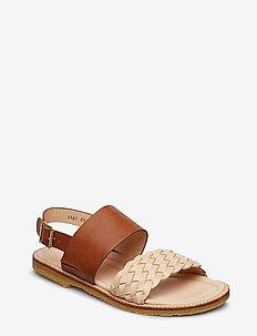 Sandals - flat - 2025/1789 BRAID/NATUR