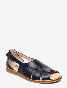 Sandals - flat - open toe - op - 1604/001 BLACK/BLACK