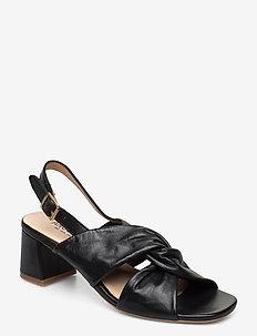 Sandals - Block heels - hoge sandalen - 1604 black