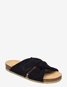 Sandals - flat - open toe - op - flade sandaler - 1163 black