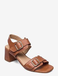 Sandals - Block heels - sandalen mit absatz - 1789 tan