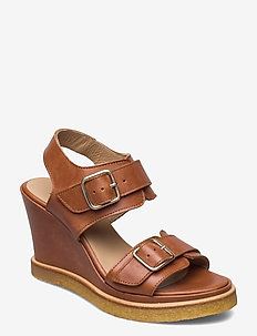 Sandals - wedge - højhælede sandaler - 1789 tan