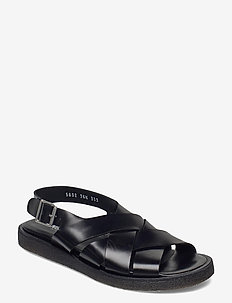 Sandals - flat - open toe - op - flade sandaler - 1835 black
