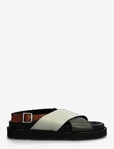 Sandals - flat - open toe - op - platta sandaler - 1604/1446/2387/1548 black/oliv