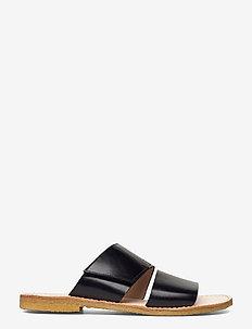 Sandals - flat - open toe - op - platta sandaler - 1835 black