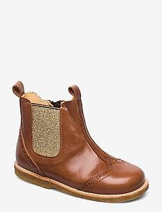 COGNAC  Kentucky  Angulus  Støvler & boots - Sko Til Dame
