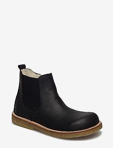 Boots - flat - zipper - 2504/001 BLACK/BLACK
