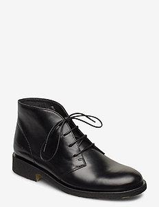 Booties - flat - tasapohjaiset nilkkurit - 1835 black