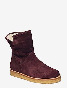 Boots - flat - 2195 BORDEAUX