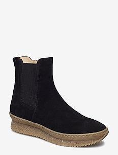 Booties - flat - 1163/019 BLACK/BLACK