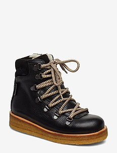 Boots - flat - with velcro - bottes d'hiver - 2504/1163/1652 black