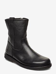 Boots - flat - 1933 BLACK