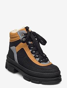Boots - flat - flat ankle boots - 1321/1631/1262/2012 sort/sort/