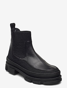 Boots - flat - talon bas - 1321/1604/019 black