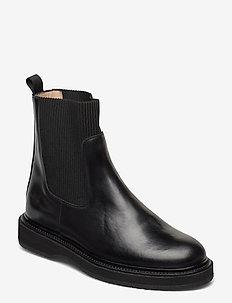 Boots - flat - chelsea boots - 1835/019 sort/sort
