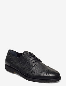 Shoes - flat - with lace - snøresko - 1933 black