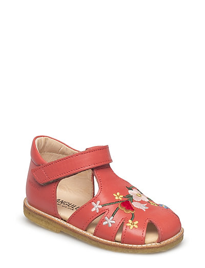 Sandals - flat - 2408 CORAL RED