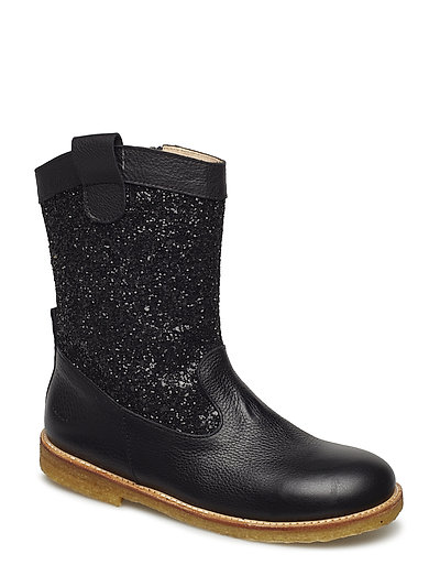 Boots - flat - 1933/2486 BLACK/BLACK GLITTER