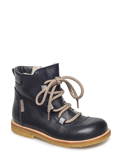 Boots - flat - with velcro - 1989/1530/2022 NAVY