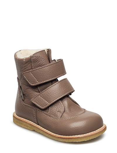 Boots - flat - with velcro - 1925/1925 DUSTY ROSEBROWN/DUST