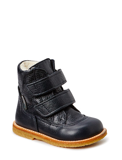 Boots - flat - with velcro - 1989/1989 NAVY/NAVY