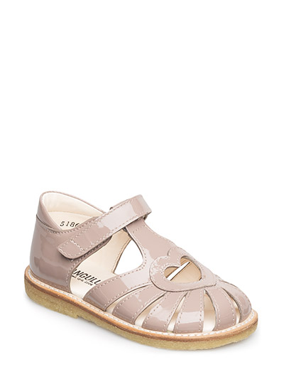Sandal with heart detail - 1387 ROSE