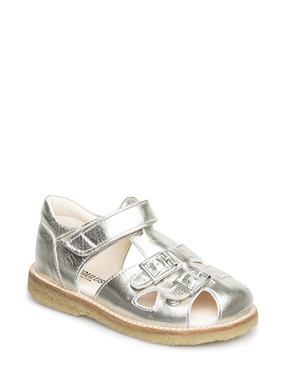 Sandal with two buckles in front - 1325 CHAMPAGNE