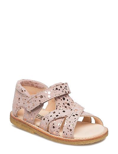 Sandals - flat - 2483 ROSE W. COPPER DOT