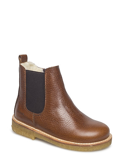 Boots - flat - zipper - 2509/002 MEDIUM BROWN/MEDIUM B