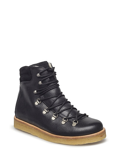 Boots - flat - with laces - 2504/1163 BLACK/BLACK