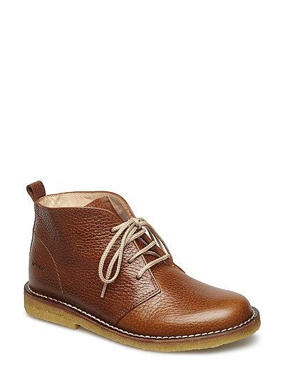 Boots - flat - 2509 COGNAC