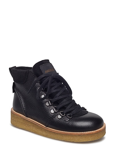 Boots - flat - with laces - 2504/1163/1652 BLACK