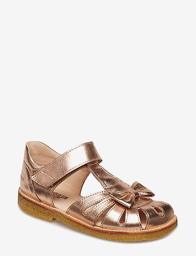 Sandals - flat - closed toe -  - remsandaler - 1311 rose copper