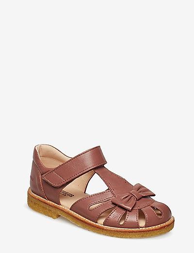Sandals - flat - closed toe -  - remsandaler - 1524 plum