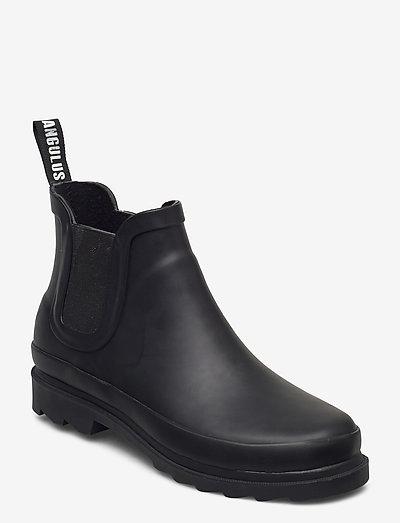Rain boots - low with elastic - flade ankelstøvler - 0001 black