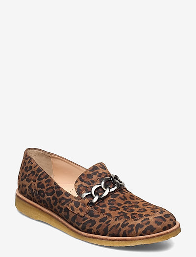 Shoes - flat - loafers - 2164 leopard