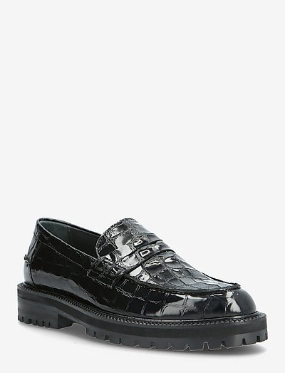 Loafer - loafers - 1674 black croco