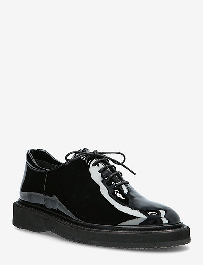 Shoes - flat - snøresko - 2320 black