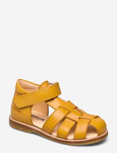 Sandals - flat - closed toe -  - remsandaler - 1544 yellow