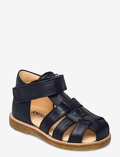 Sandals - flat - closed toe -  - remsandaler - 1546 navy
