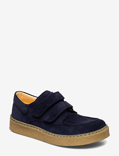 Shoes - flat - with velcro - lave sneakers - 2197 navy