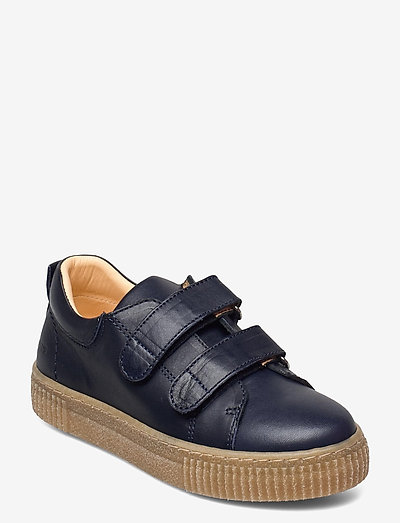 Shoes - flat - with velcro - lave sneakers - 1546 navy