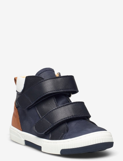 Shoes - flat - with velcro - høje sneakers - 1587/1530/1431/1521 navy combi