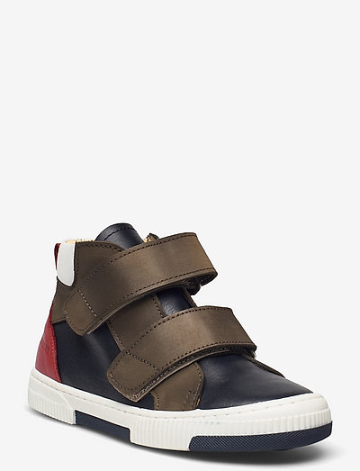 Shoes - flat - with velcro - høje sneakers - 1530/1253/1579/1521 navy/olive