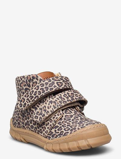 Shoes - flat - with lace - støvler - 2185/2185/1545 leopard/c