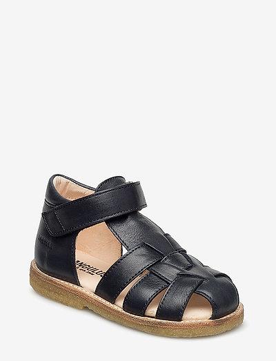 Sandals - flat - closed toe -  - remsandaler - 1530 navy
