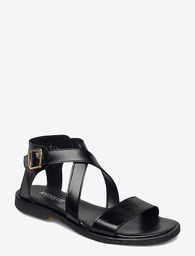 5442 - flade sandaler - 1835 black