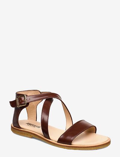 5442 - flade sandaler - 1837 brown