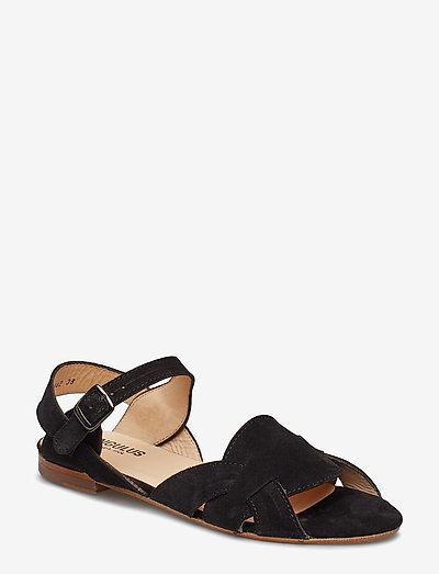 Sandals - flat - flade sandaler - 1163 black